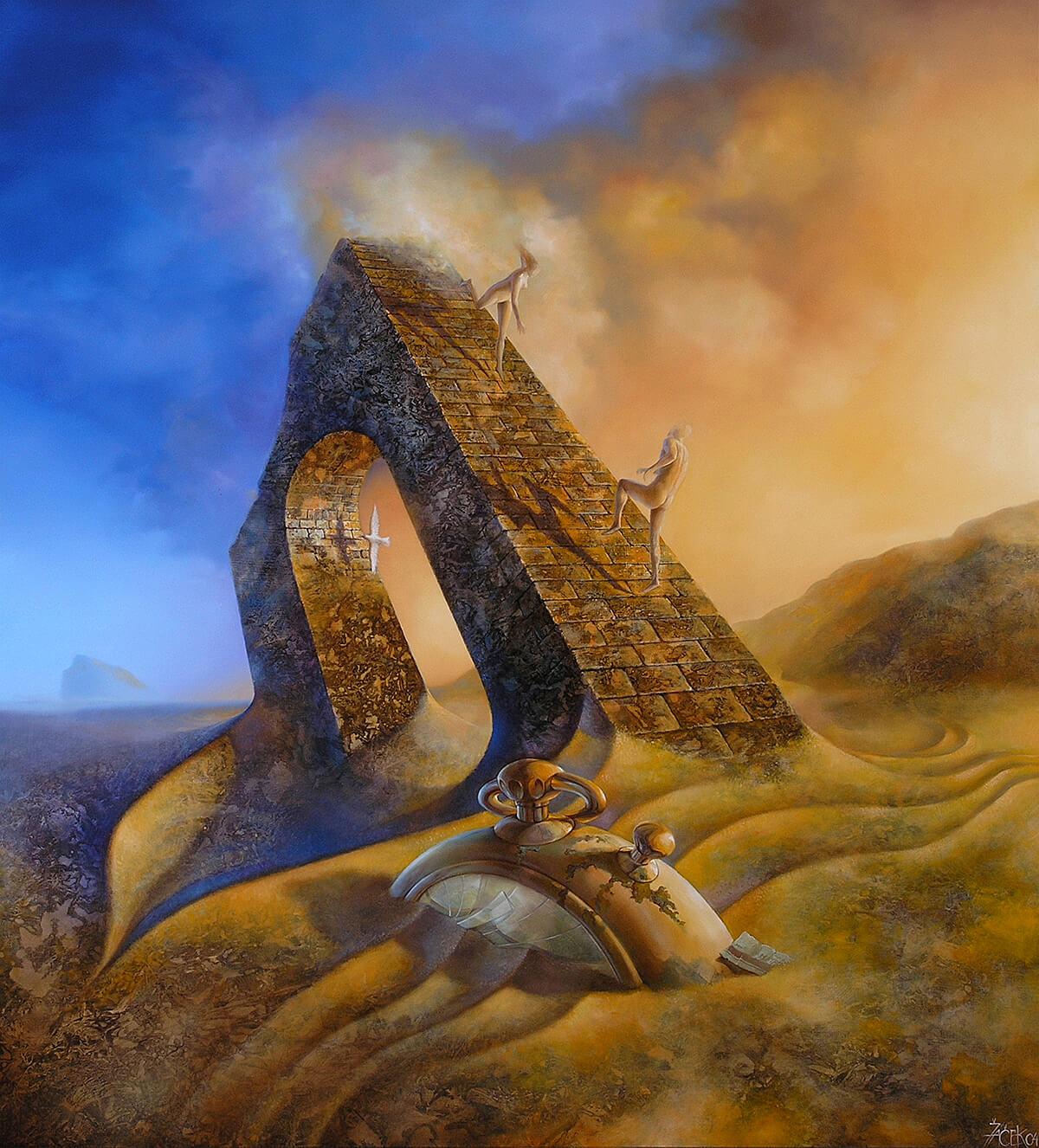 oil on masonite, 100 x 92 cm, 2004