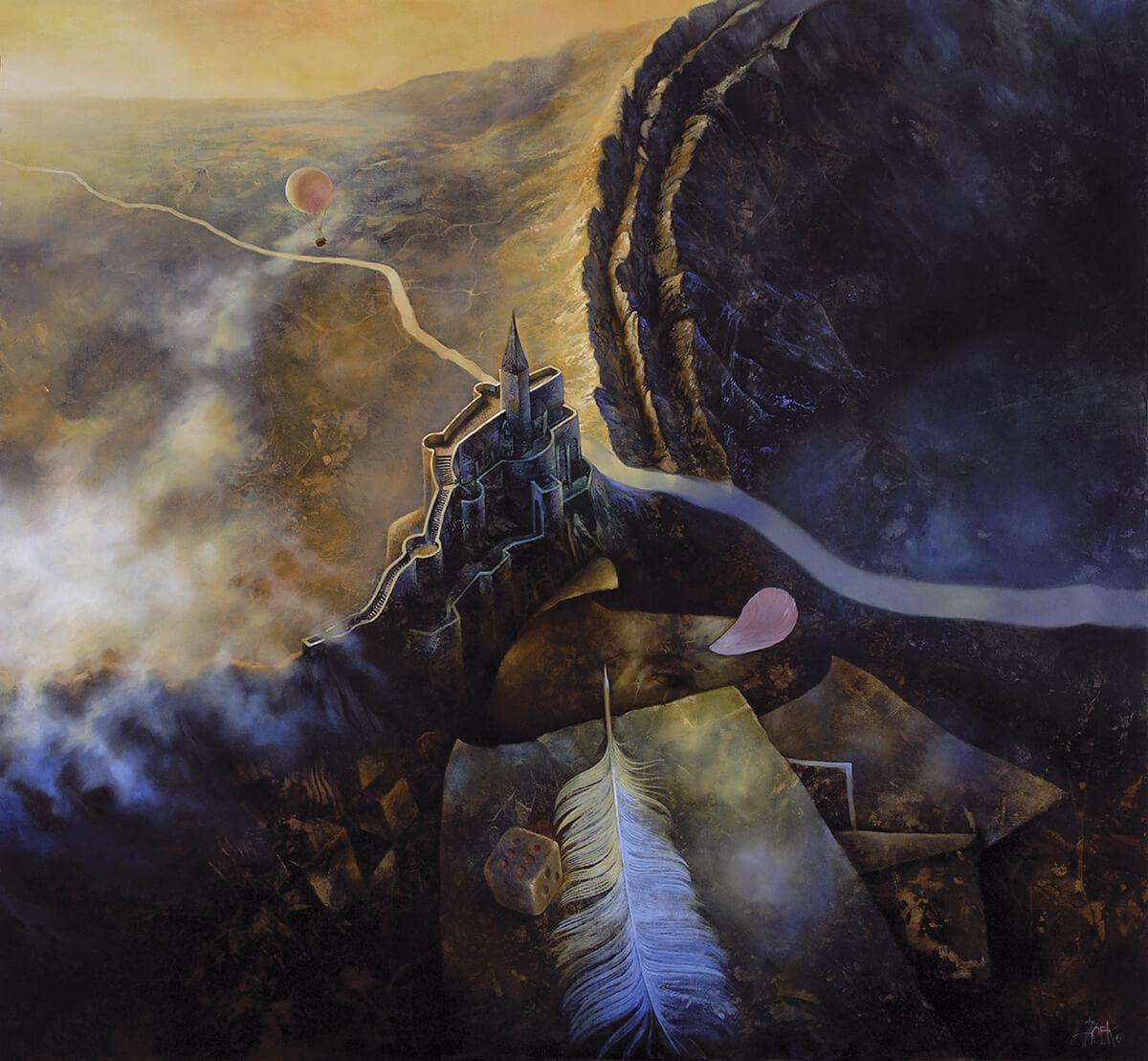 oil on masonite, 95 x 87 cm, 2006