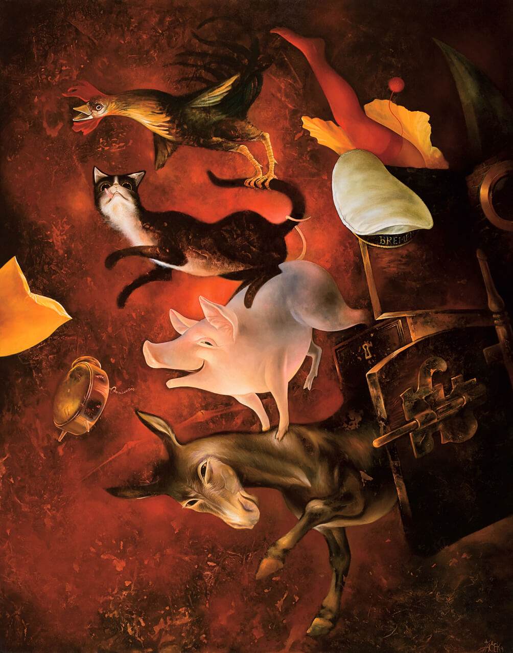 oil on canvas, 120 x 90 cm, 2009