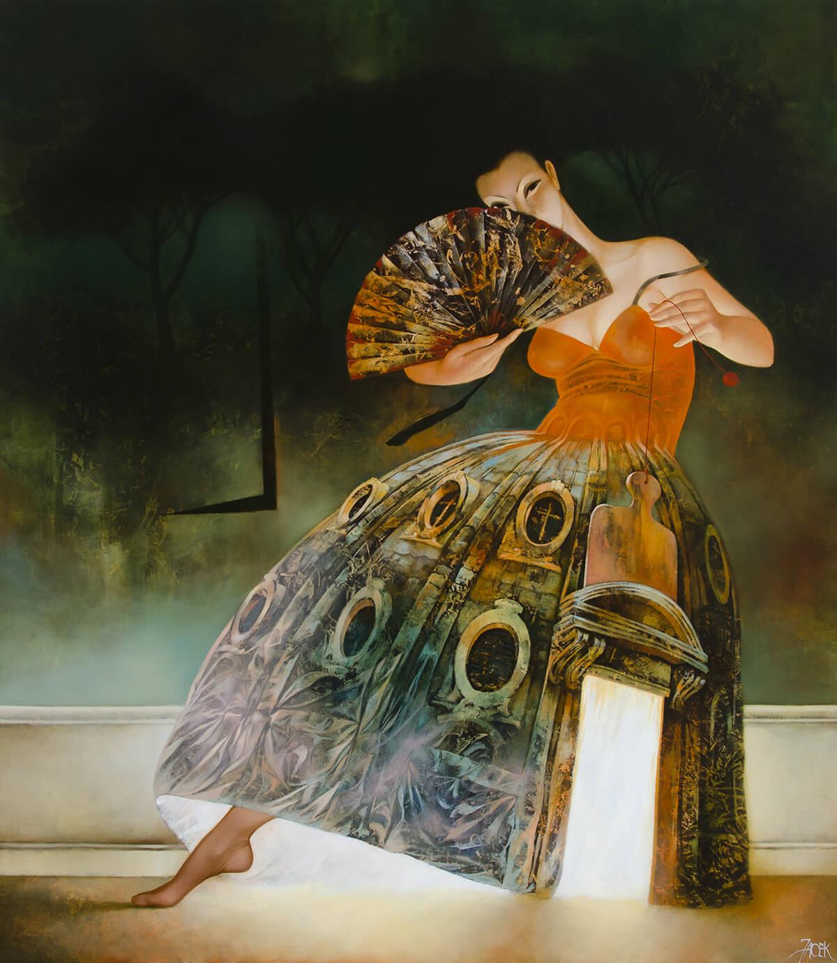 oil on canvas, 110 x 90 cm, 2012