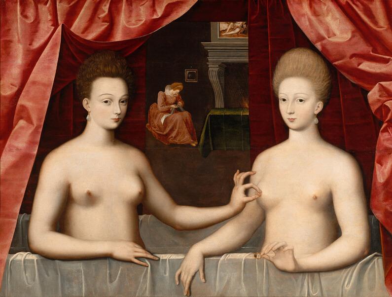 Fontainebleau School, 1594