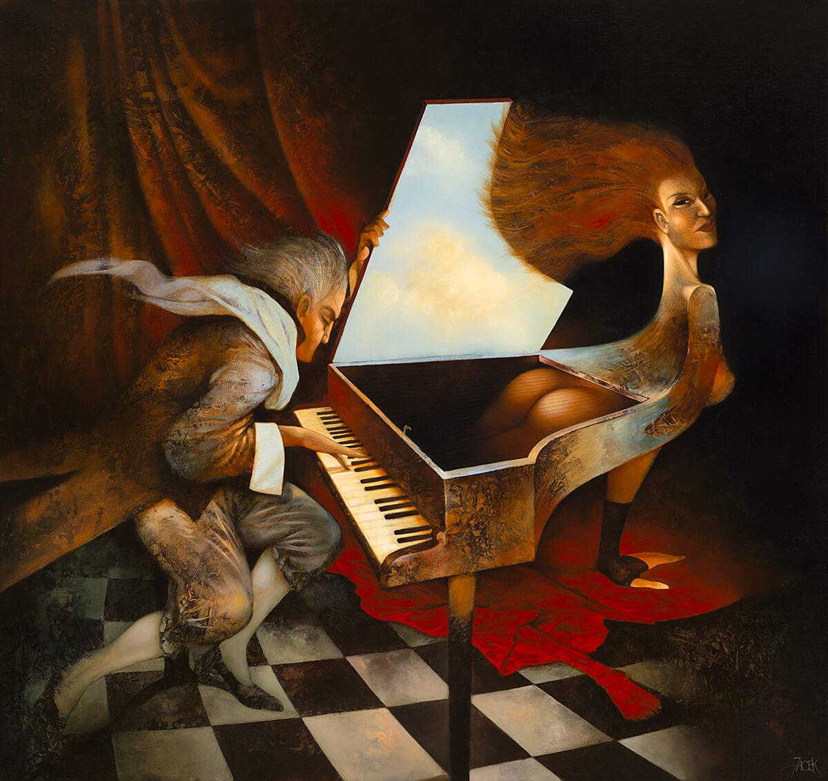 oil on canvas, 80 x 85 cm, 2015