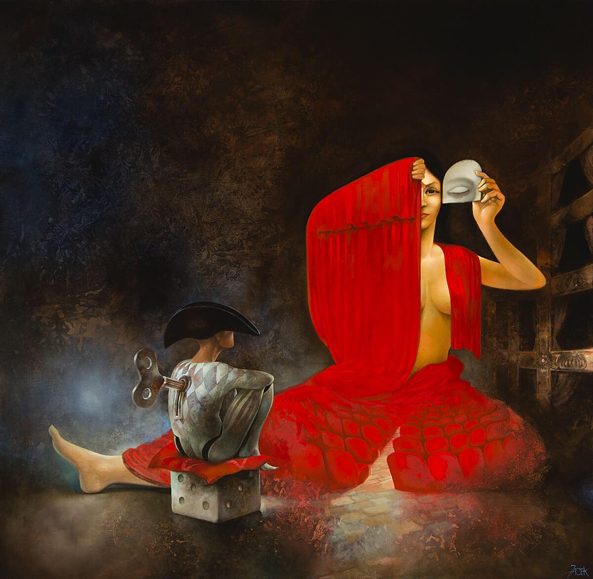 oil on canvas, 100 x 100 cm, 2015