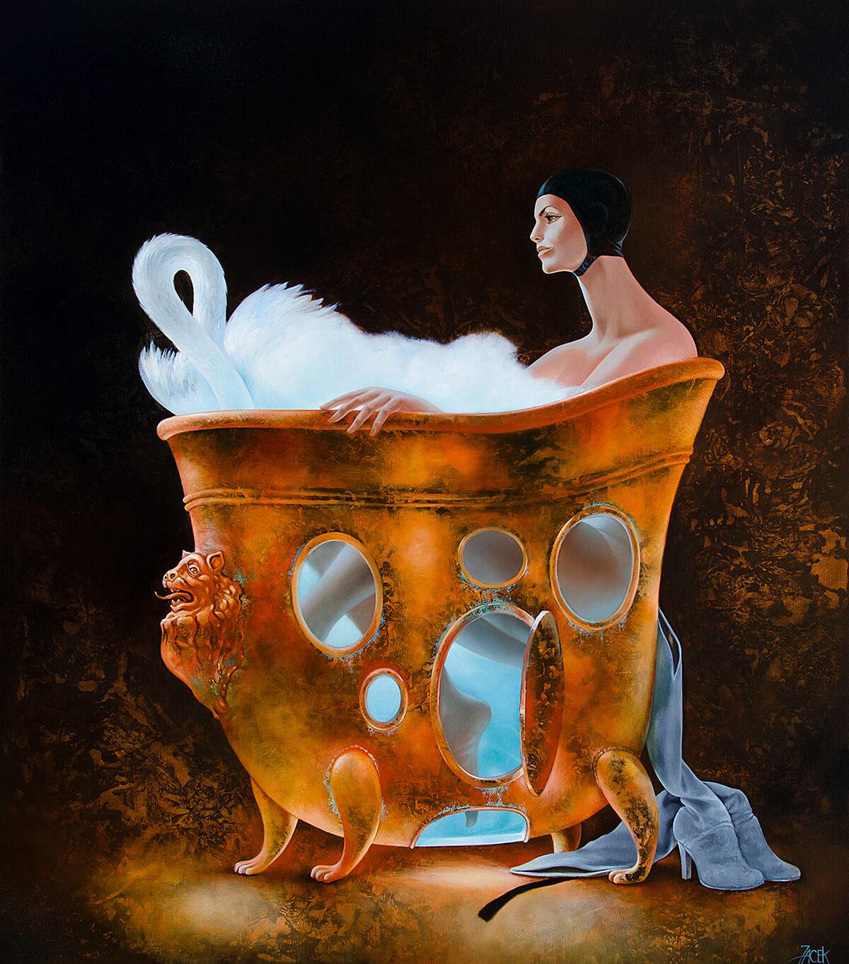 oil on canvas, 100 x 85 cm, 2012